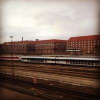 Photo taken at DSB Klargøringsstation Belvedere by Virginia Y. on 1/19/2014