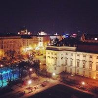 Das Foto wurde bei 25hours Hotel Wien beim MuseumsQuartier von Virginia Y. am 4/18/2013 aufgenommen