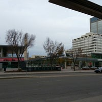 Photo taken at Churchill LRT Station by Jm H. on 10/14/2012