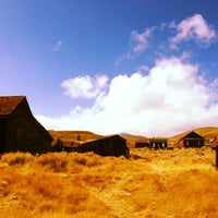 Photo taken at Bodie, CA by Jennifer G. on 10/15/2013