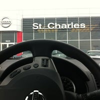 Photo taken at St Charles Nissan by M#STL on 2/22/2013