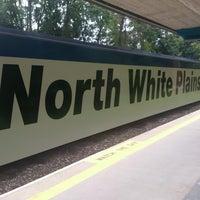 Photo taken at Metro North - North White Plains Station by Felipe E. on 7/10/2013