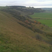 Photo taken at Dunstable Downs by Michael P. on 10/25/2012