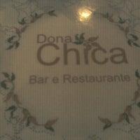 Photo taken at Dona Chica Bar e Restaurante by Sabrina C. on 9/18/2012