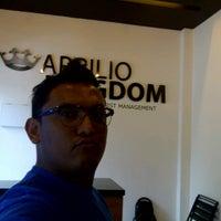 Photo taken at 👑 APRILIO KINGDOM by @freddyunus on 7/31/2013
