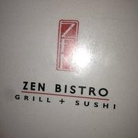Photo taken at Zen Bistro Sushi by Josh R. on 12/13/2012