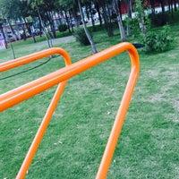 Photo taken at Chet Park by Fernando H. on 7/30/2015