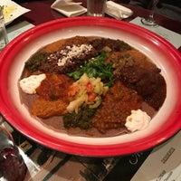 Photo taken at Assab Eritrean Restaurant by Sarah H. on 2/12/2017