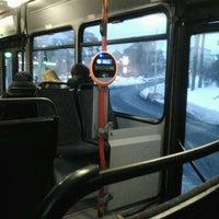 Photo taken at Buss nr 32 by Kristjan V. on 2/25/2013