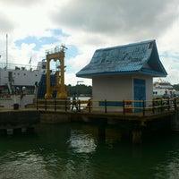 Photo taken at Pelabuhan PT ASDP Indonesia Ferry (Persero) by santi e. on 8/18/2013