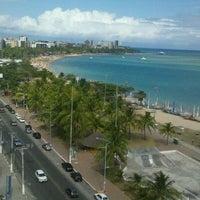 Photo taken at Radisson Hotel Maceio by Renato B. on 1/7/2013