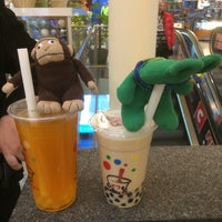 Photo taken at Tea One - Bubble Tea by greenie m. on 1/18/2014