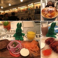 Photo taken at Russ & Daughters Café by greenie m. on 12/12/2015