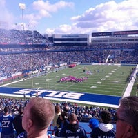 Photo taken at New Era Field by Christine E. on 10/21/2012