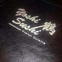 Photo taken at Yoshi Sushi by Daniel M. K. on 3/8/2014