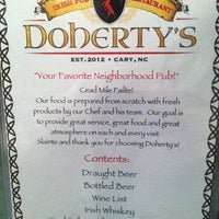 Photo taken at Doherty's Irish Pub & Restaurant by Anna C. on 3/6/2013