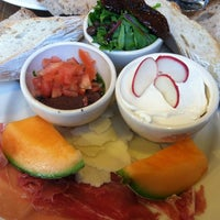 Photo taken at Le Pain Quotidien by Tricia S. on 1/4/2013