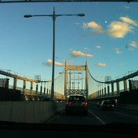 Photo taken at Robert F. Kennedy Bridge (Triborough Bridge) by Leigh S. on 9/23/2012