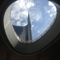 Photo taken at Unicredit Tower by Enza C. on 5/21/2013