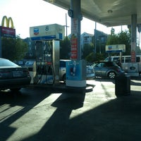 Photo taken at Chevron by George P. on 10/12/2013