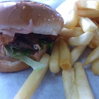 Photo taken at Apollo Burgers by George P. on 12/1/2012
