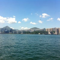 Photo taken at Sai Wan Ho 西灣河 by Alice C. on 6/30/2013