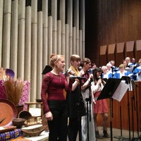 Photo taken at First United Methodist Church Of Champaign by Gordon W. on 2/10/2013