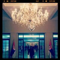 Photo taken at Centralni dom Vojske Srbije by Marija Z. on 2/7/2013