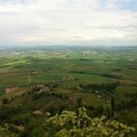 Photo taken at Dei Capitani Hotel Montalcino by Cantini D. on 5/10/2013