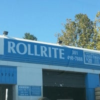 Photo taken at Roll Rite Tires by Cheryl R. on 10/18/2013
