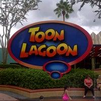 Photo taken at Toon Lagoon by Matt T. on 10/8/2012