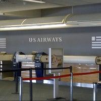 Photo taken at US Airways Check In by Matt T. on 10/10/2012