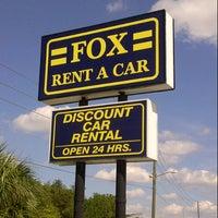 Fox Rental Car Location Orlando Airport