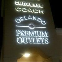 Photo taken at Orlando Vineland Premium Outlets by Matt T. on 10/10/2012