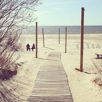 Photo taken at Liepājas pludmale / Liepaja Beach by Vladimir L. on 5/4/2013