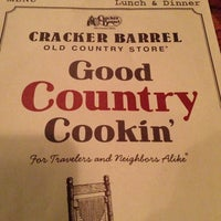 Photo taken at Cracker Barrel Old Country Store by Smoke D. on 1/14/2013