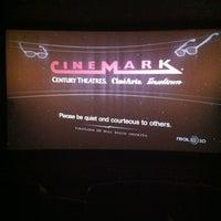 Photo taken at Cinemark by Samantha S. on 11/12/2012