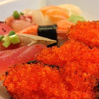 Photo taken at Oishii Japanese Restaurant & Sushi Bar by Sang L. on 4/4/2013