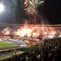 """Photo taken at Stadion """"Rajko Mitić"""" by Filip V. on 11/17/2012"""