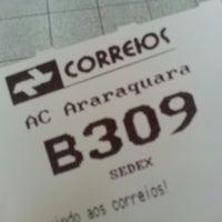 Photo taken at Correios by Moacir B. on 10/31/2014