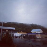 Photo taken at Greyhound: Bus Station by Yiming C. on 9/13/2013