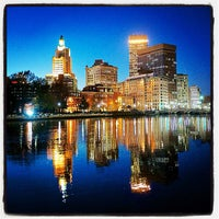 Photo taken at Downtown Providence by Yiming C. on 11/10/2012