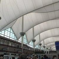 Photo taken at Gate B58 by Chieko B. on 11/9/2014