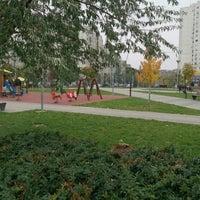 Photo taken at Park u bloku 62 by Vera R. on 11/17/2013