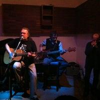 Photo taken at Blue Wine Bar by Ceasar K. on 12/19/2012