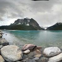 Photo taken at Lake Louise by Yat S. on 6/13/2013