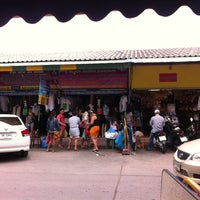 Photo taken at Thanin Market by Nattawadee N. on 7/8/2013