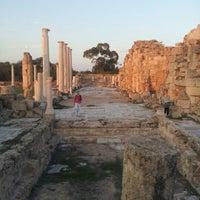 Photo taken at Salamis Ruins by Şerif Şadi Ş. on 11/20/2012