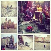 Photo taken at Wrocław by Verysha🍇 on 1/10/2013
