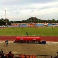Photo taken at Sam Ao Stadium by New J. on 6/7/2014